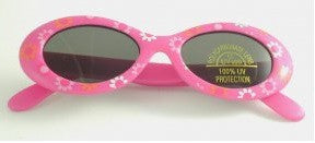 Lollipop UV 400 Floral Print Rubber Sunglasses