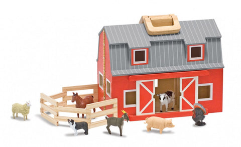 Childrens Toys - Melissa & Doug Fold and Go Barn
