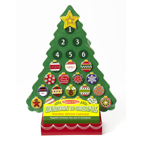 Melissa & Doug Countdown to Christmas Advent Calender
