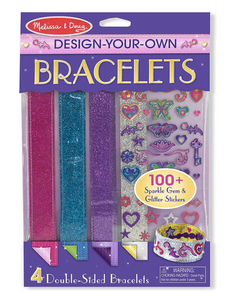 Melissa & Doug Decorate Your Own Bracelets Set