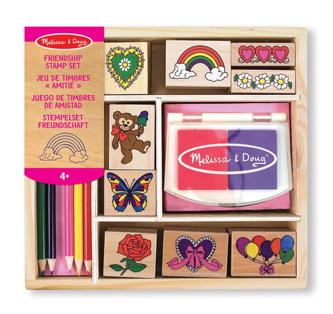 Melissa & Doug Childrens Toys Stamp Set Friendship