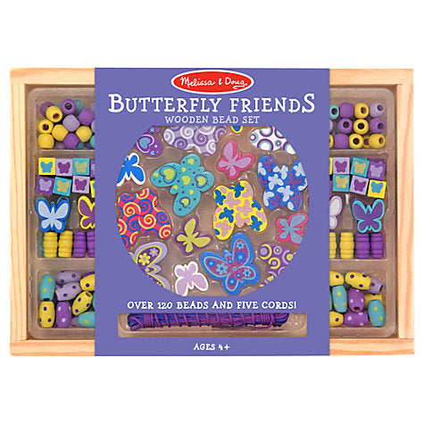 Melissa & Doug Bead Set Butterfly Friends