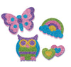 Melissa & Doug Mess Free Glitter Friendship Stickers