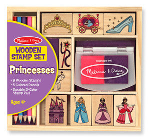 Melissa & Doug Childrens Toys Stamp Set Princess