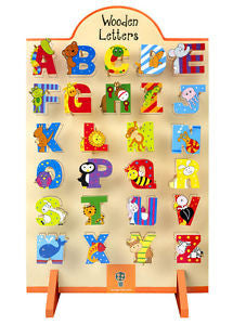 Orange Tree Toys Wooden Alphabet Letters