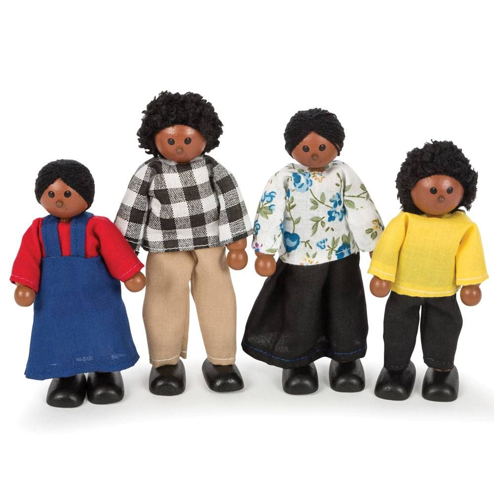 Tidlo Multicultural Dolls - Black Family