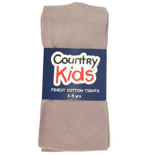 Country Kids Luxury Cotton Tights Mocca