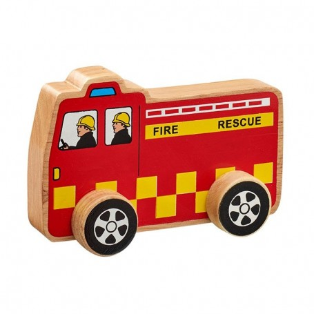 Lanka Kade Fairtrade Wooden Fire Engine