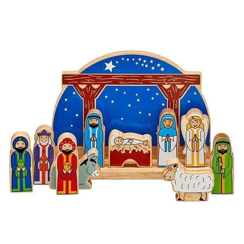 Lanka Kade Fairtrade Wooden Junior Starry Night Nativity