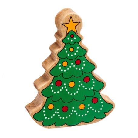 Lanka Kade Fairtrade Painted Wooden Christmas Tree