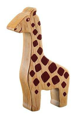 Lanka Kade Fair Trade Natural Wood Toys-Giraffe