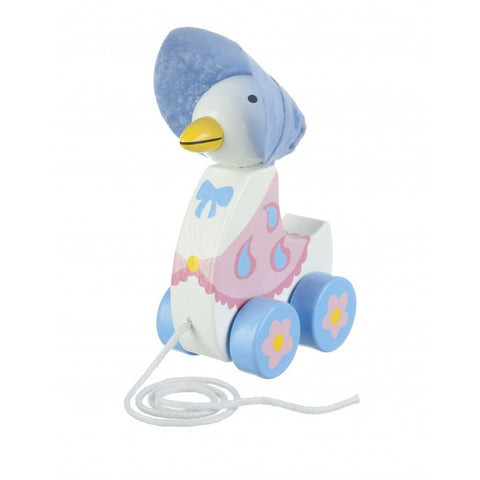 Orange Tree Toys Jemima Puddle-Duck Pull Along