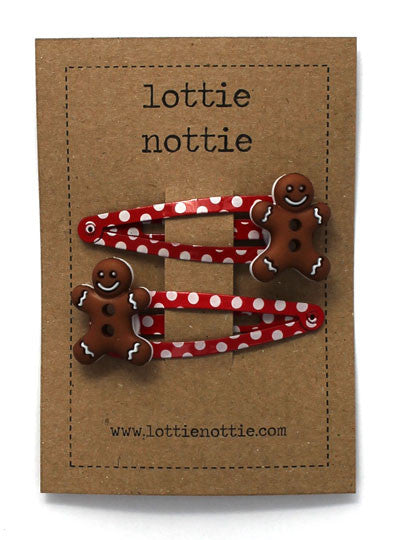 Lottie Nottie Christmas Gingerbread Man Clips Dandy Lions