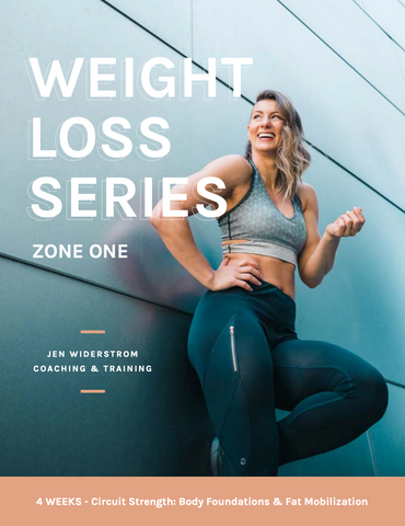 Weight Loss Series (Zone 1)