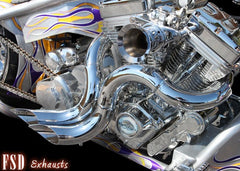 3D Hotrod Sinful with O2 Sensors Chrome
