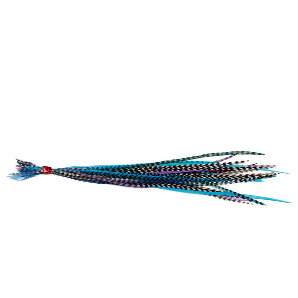 25x Short 7-9 inch Feathers - Starlight