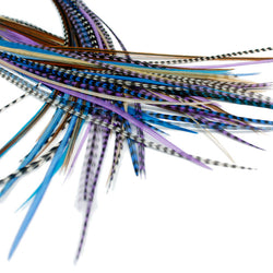 25x Short 7-9 inch Feathers - Starlight Naturals