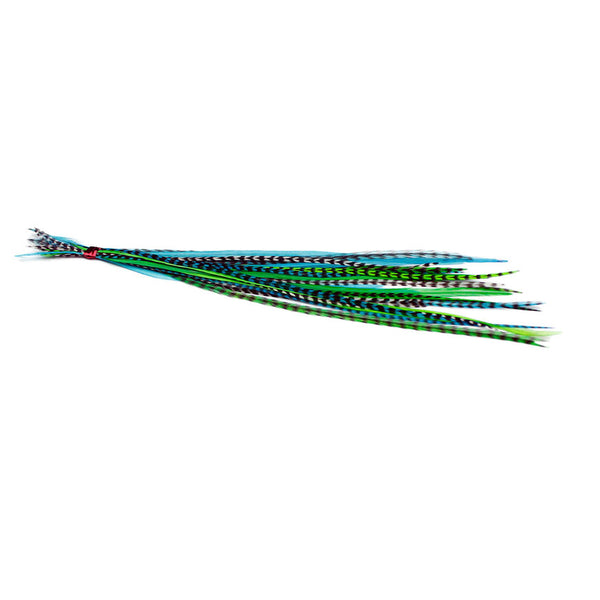 25x Short 7-9 inch Feathers - River