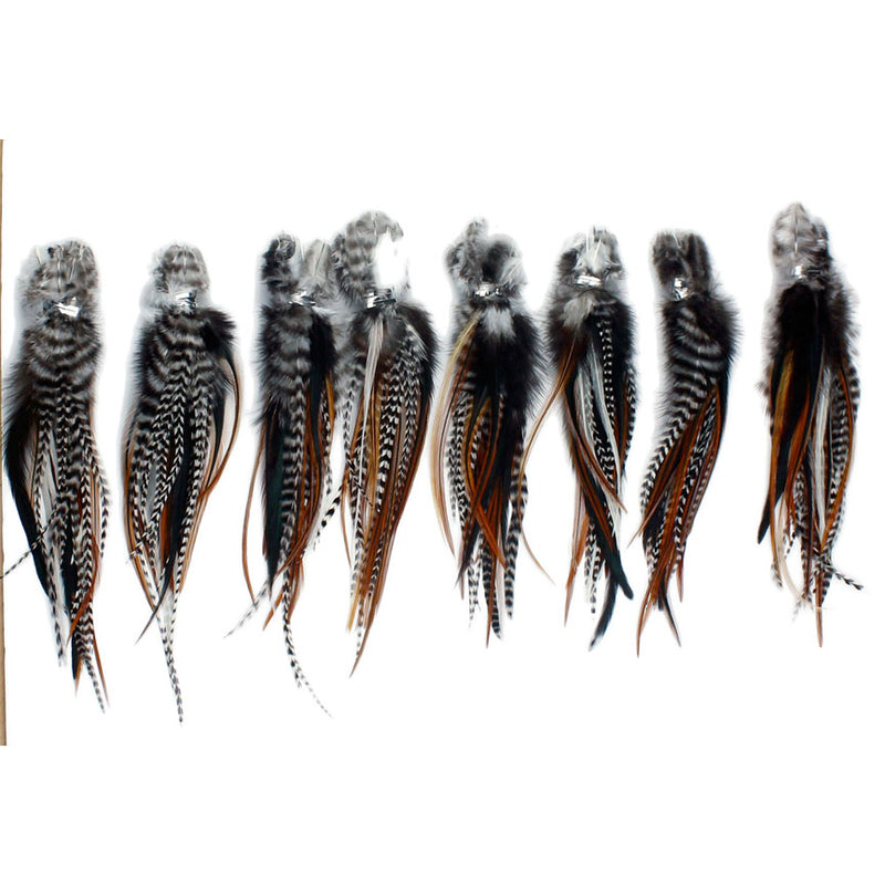 25 Mini Fluffy Hair Feathers
