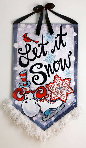 A Let It Snow Banner