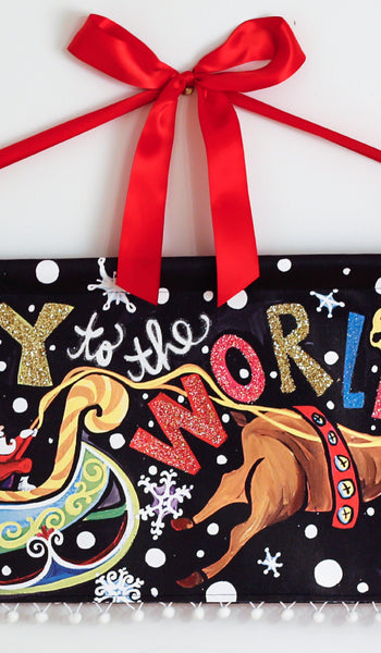 A Joy to the World Banner