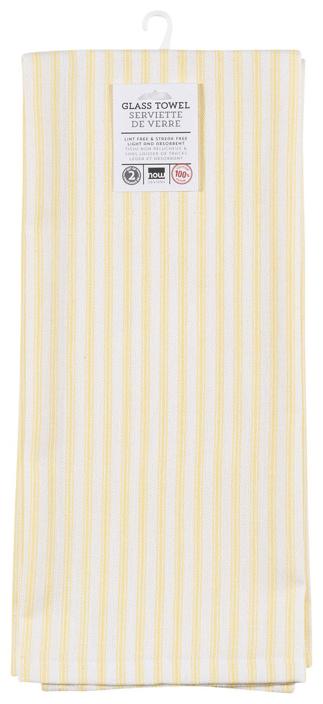 Glass Dishtowel, Set of 2 - Lemon