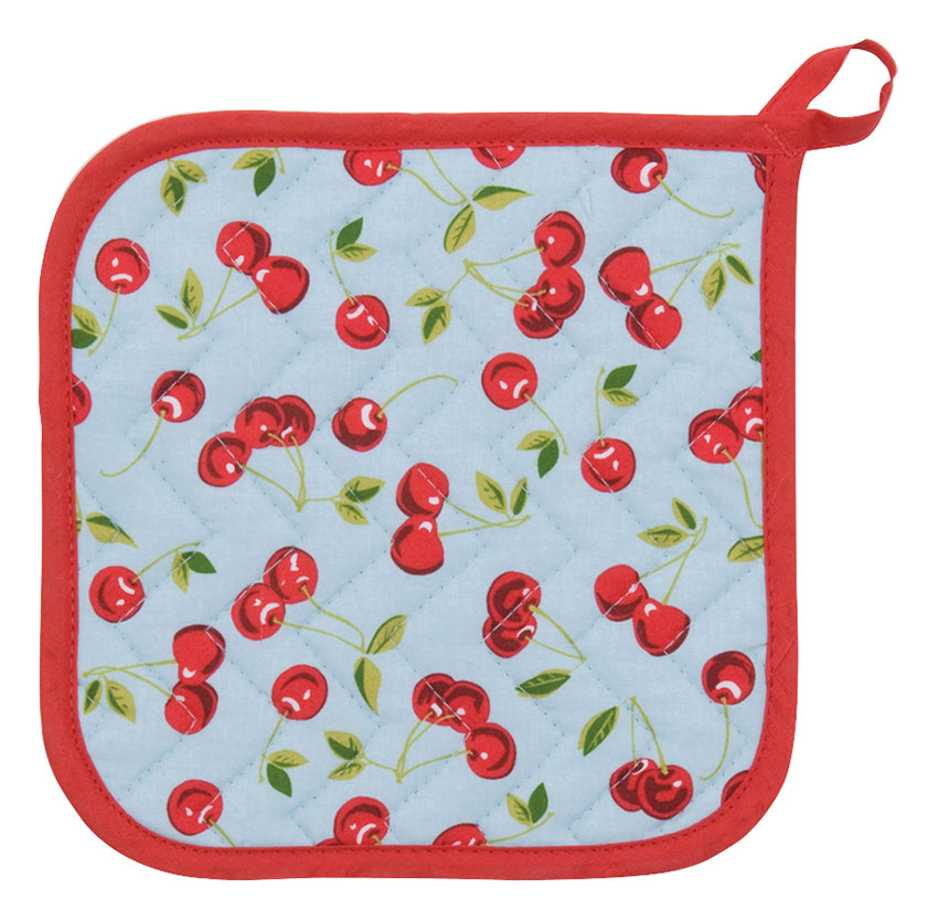 Pot Holder - Cherries