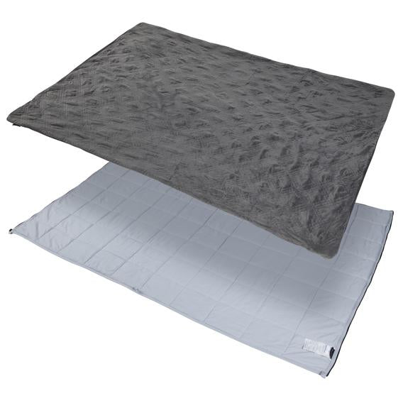 Weighted Blanket - 25 lb, Queen (80x87) Charcoal