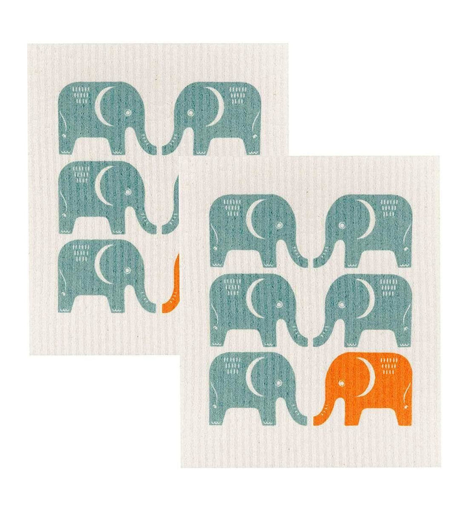 Swedish Dish Cloth -Edgar Elephant
