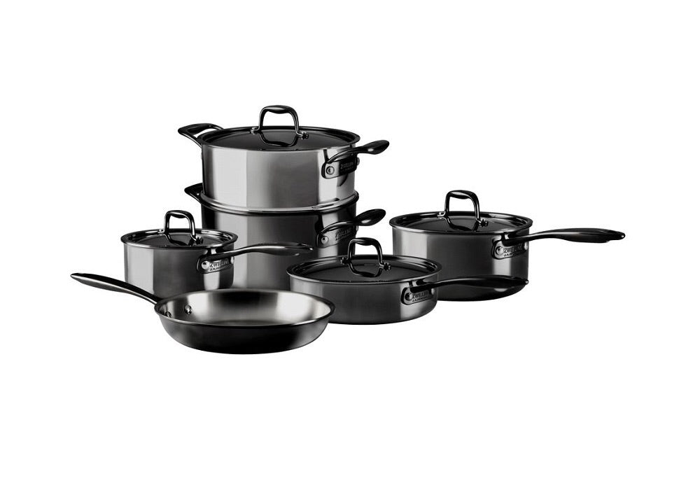 10 Piece Cookware - Nero