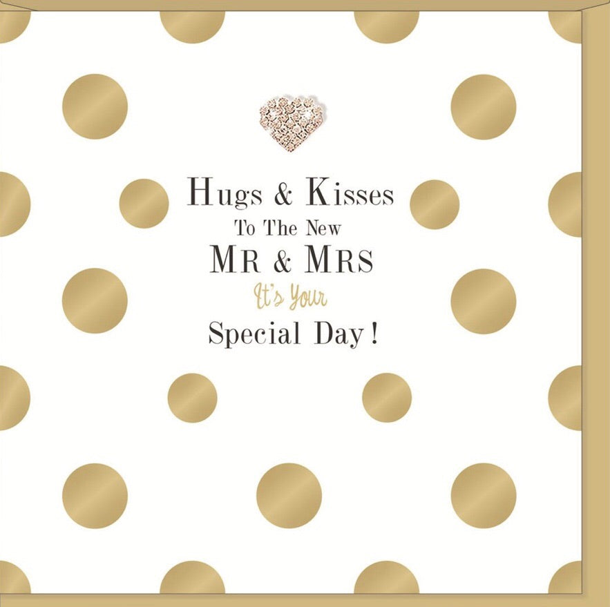 Greeting Card Hugs and Kisses
