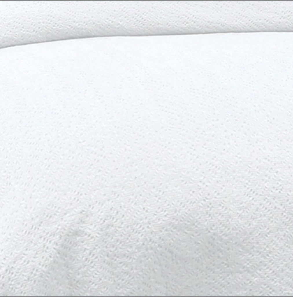 Mallow White King Pillow Sham single