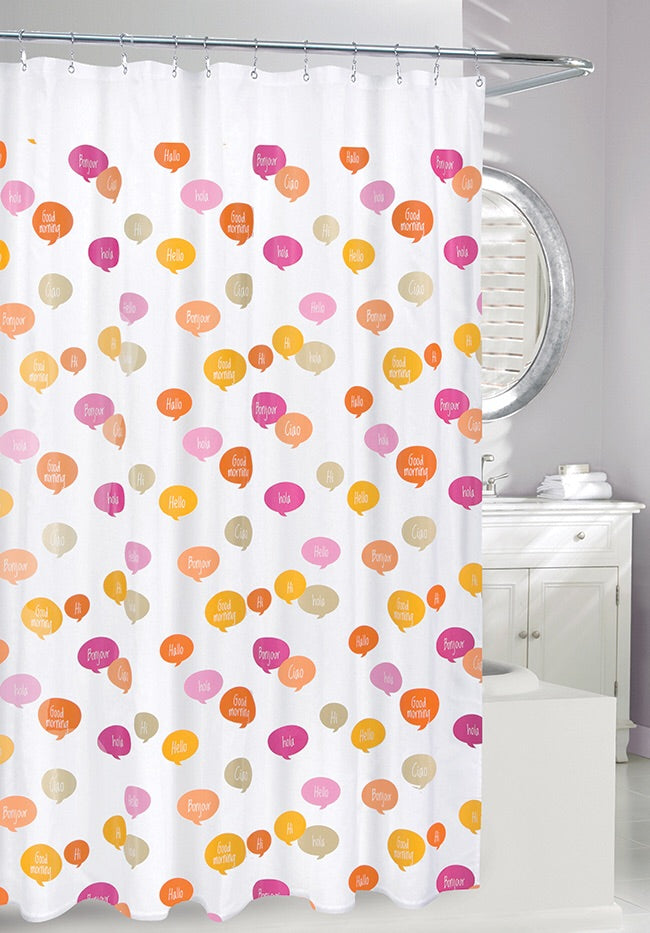 Ciao Shower Curtain