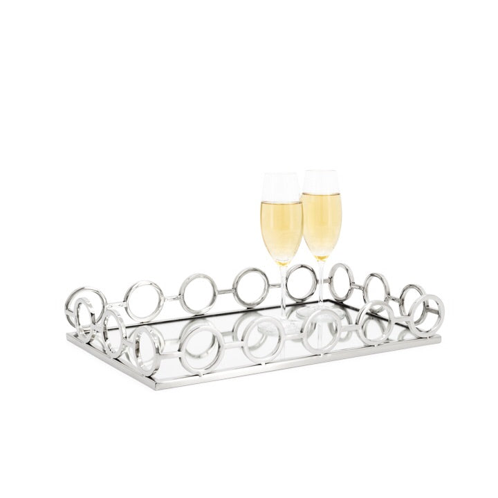 Lux SS Rectangle Tray