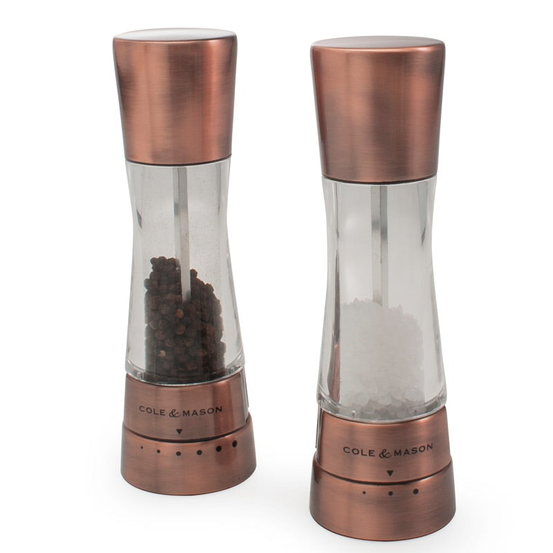 Derwent Pepper Mill, Copper