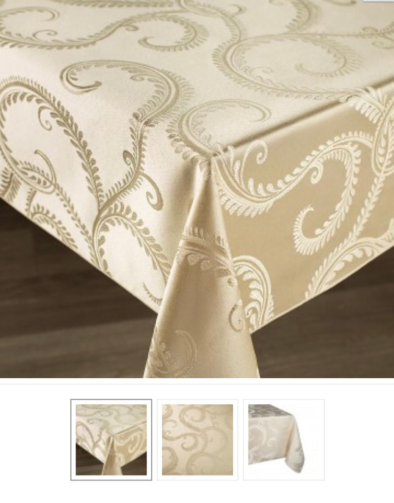 Enchanted Scrolls 54x70 OB - Cream