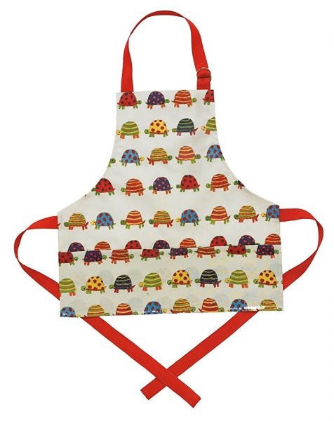 Kids Apron - Tiny Tortoise
