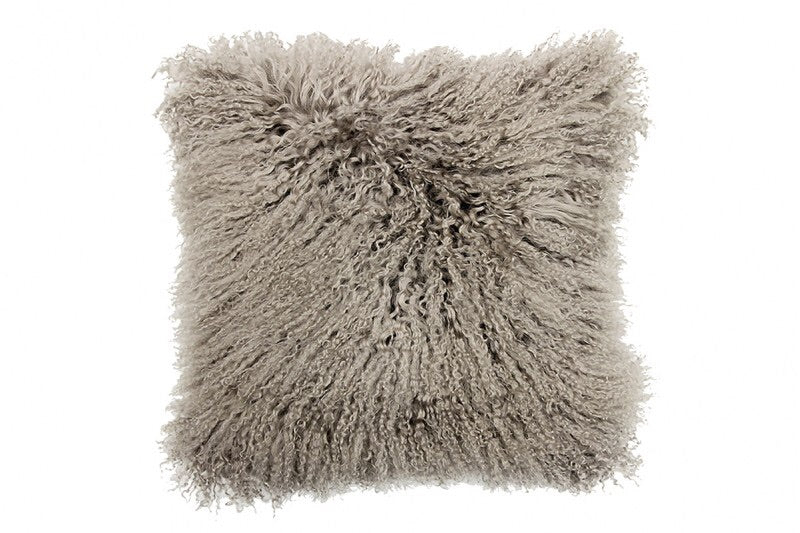 "Khulan Taupe 16"" Cushion"