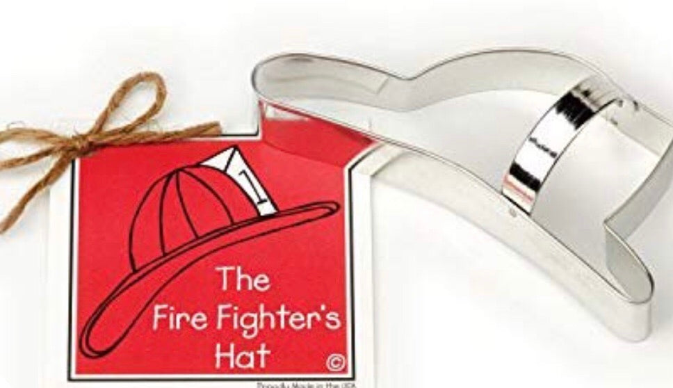 Fire Hat Cookie Cutter