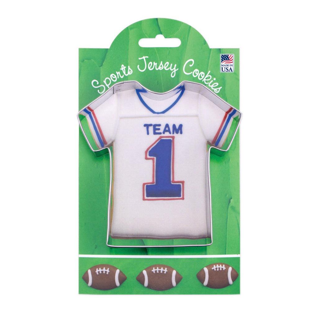 Sports Jersey Cookie Cutter