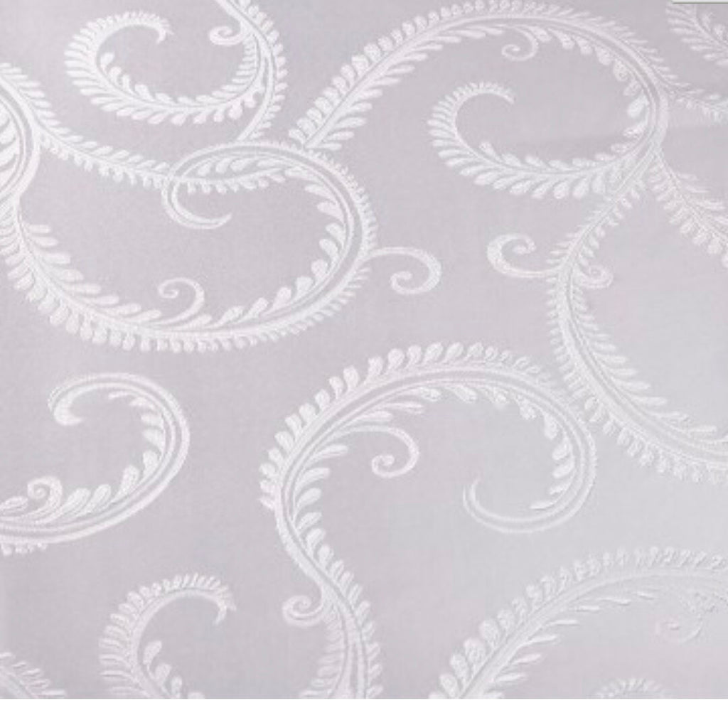 Enchanted Scrolls Napkin - White
