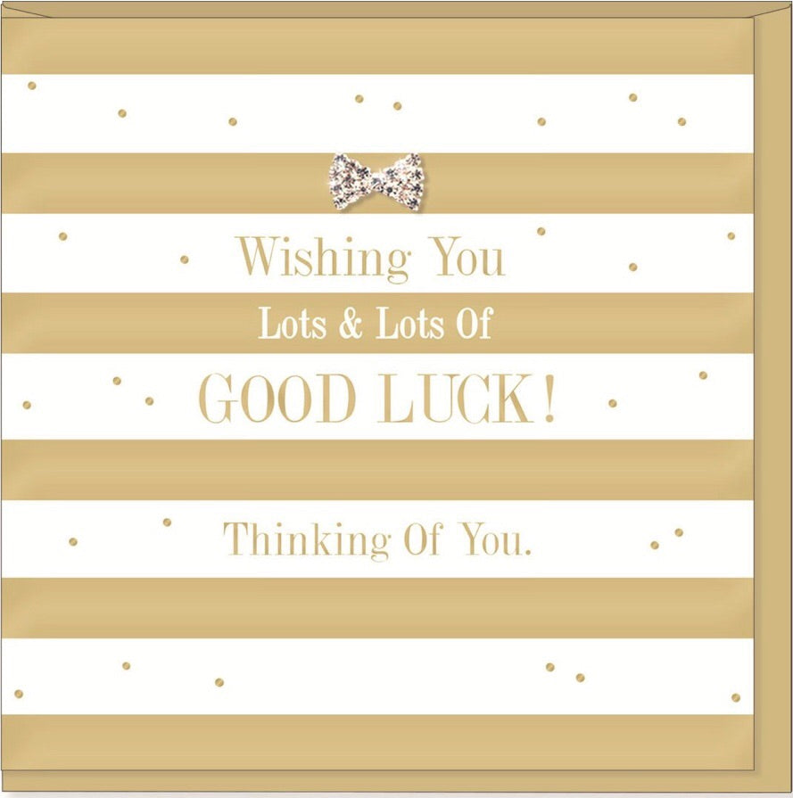 Greeting Card Lots of lots luck
