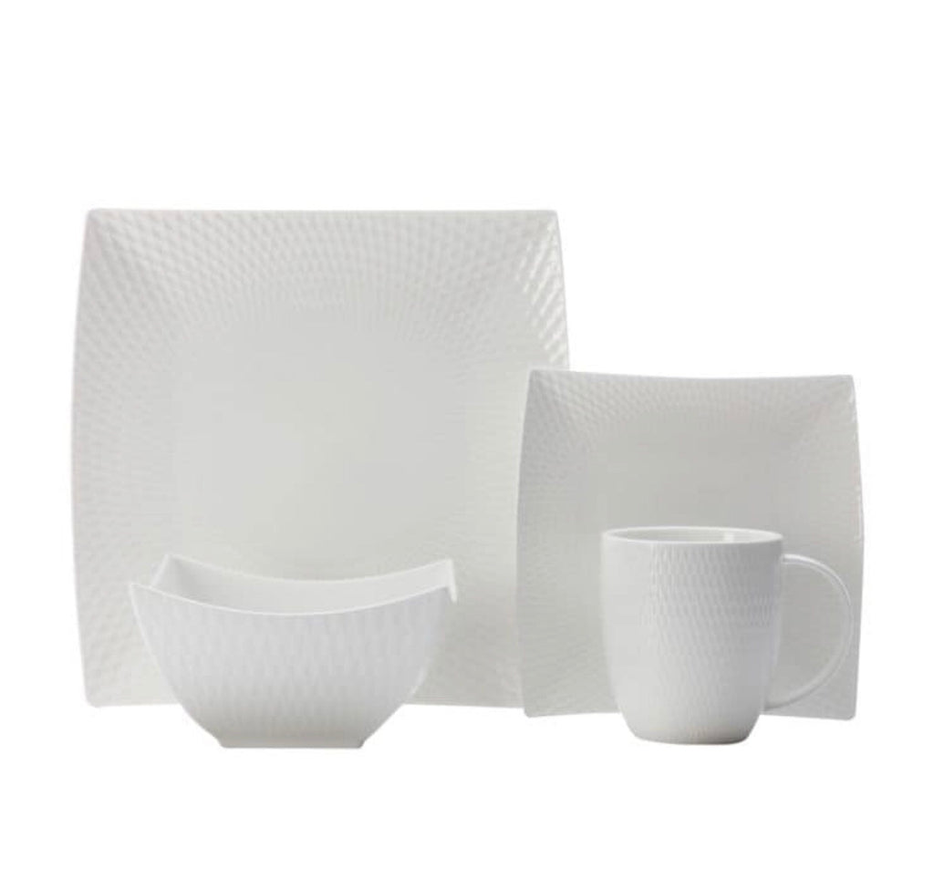 16PC Dinnerware Set Diamond Square