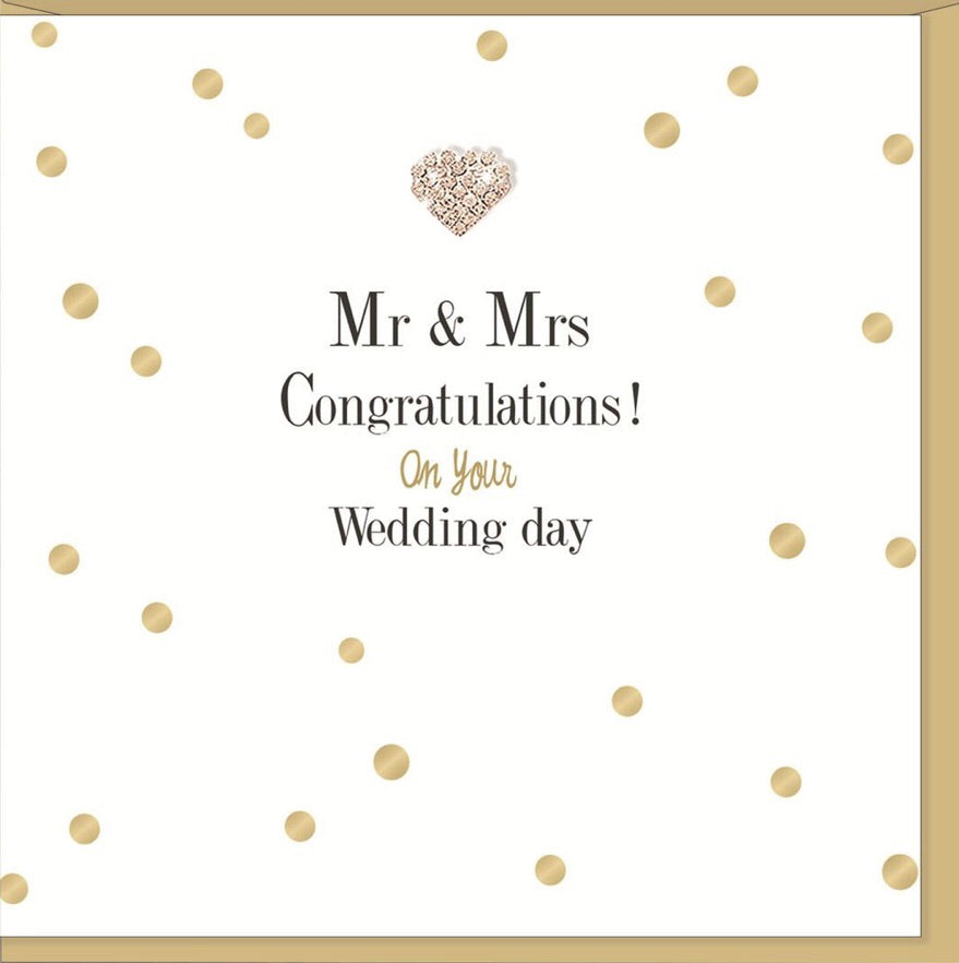 Greeting Card Mr. & Mrs.
