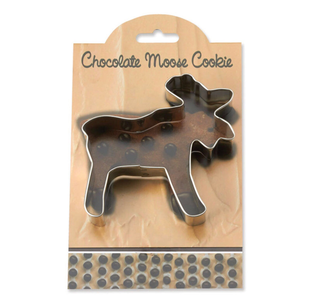 Chocolate Moose Cookie Cutter