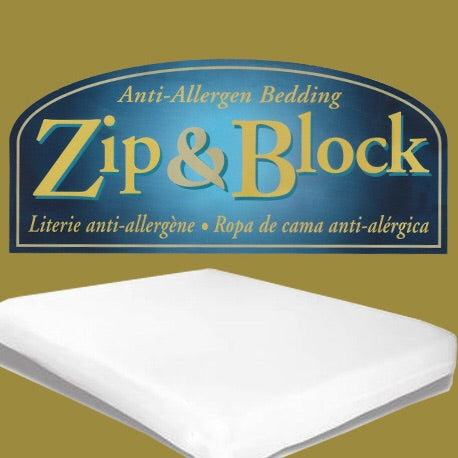 Soft Block Queen Pillow Encasement