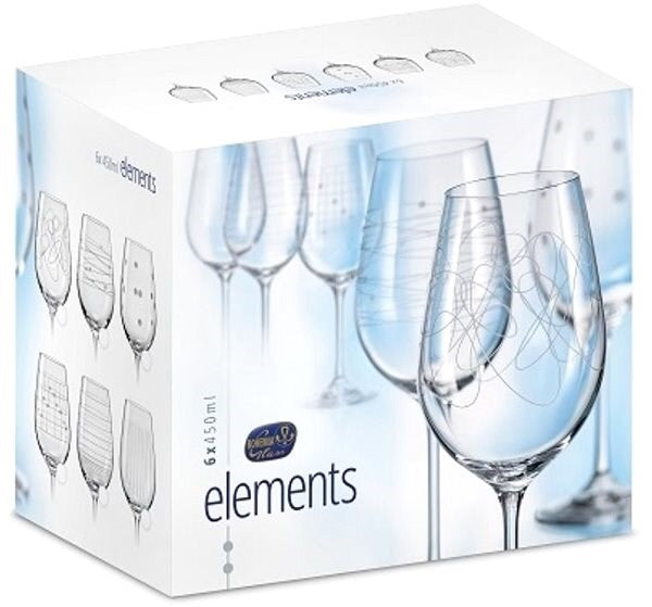 Elements Wine Glass (6 x 450 ml)