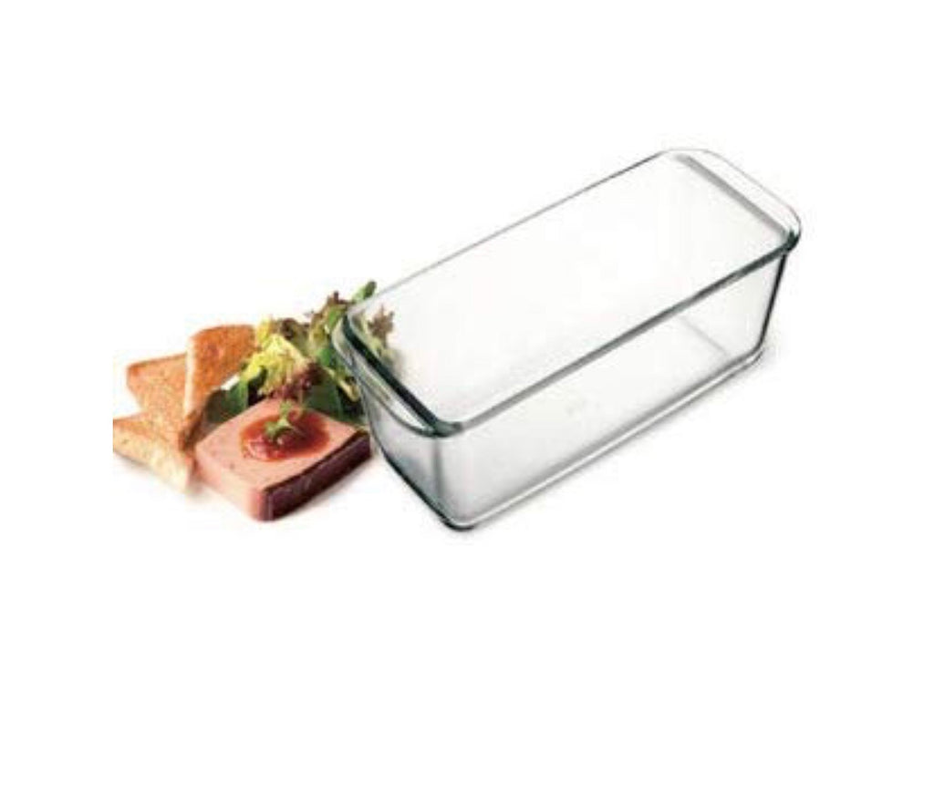 Simax Bakeware - Glass Loaf Pan (1.5 litre)