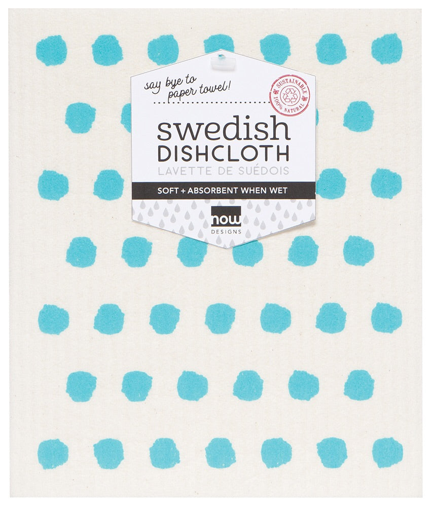 Swedish Dish Cloth - Bali Blue