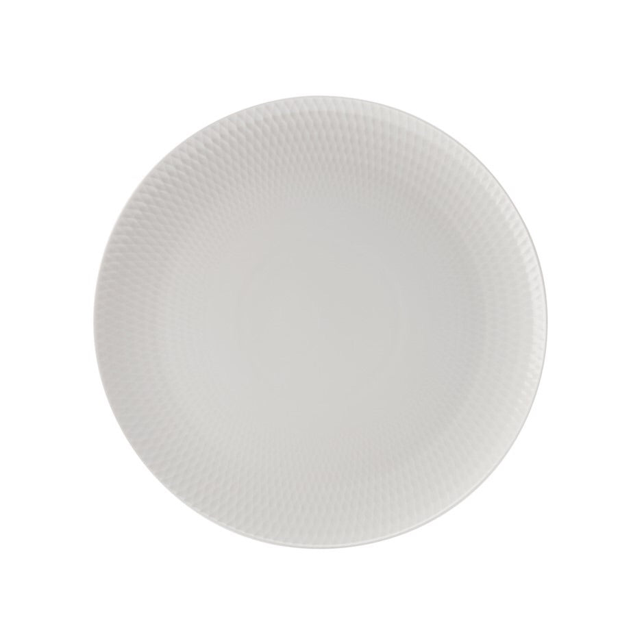White Basics Platter Diamond Round 36CM